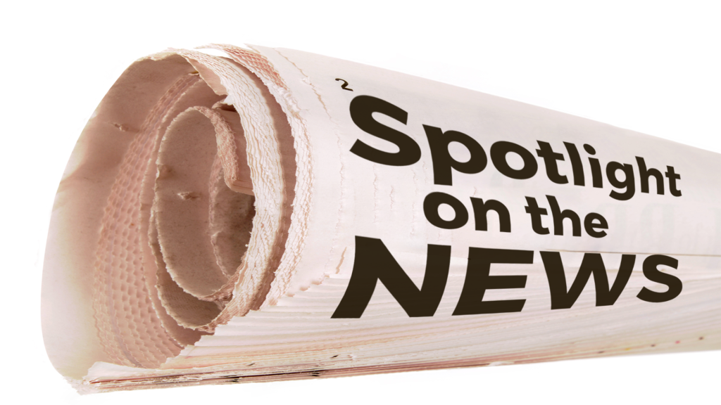 Welcome to Spotlight on the News!